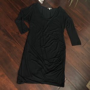 Banana Republic Cotton Rouched Dress